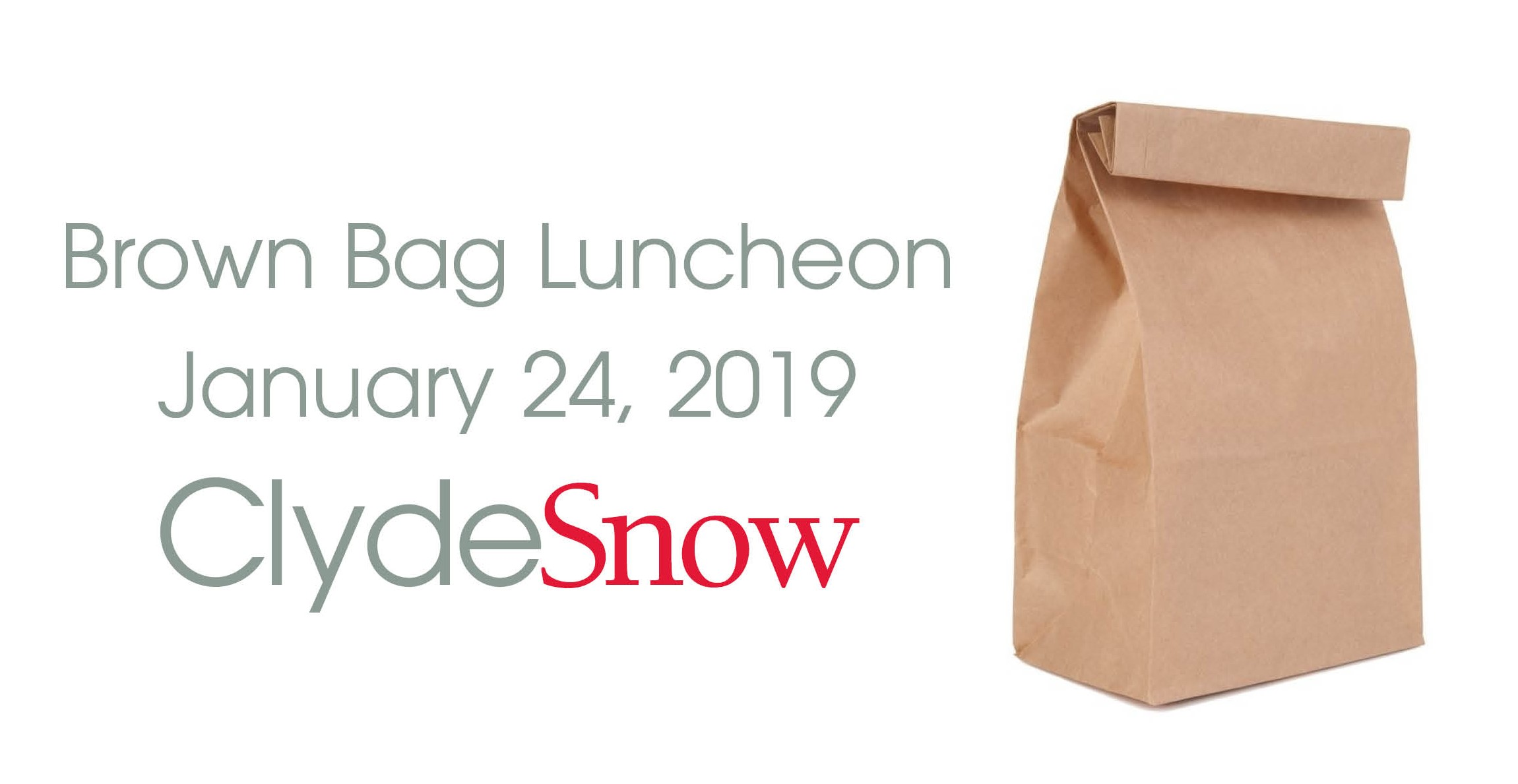 ENREL Brown Bag Luncheon - January 24, 2019, Clyde Snow Attorneys at Law